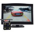 """NUOYUN Alta Resolución de 5 """"Color TFT LCD Monitores de Ayuda Al Aparcamiento de Coches DC 12 V monitor del coche HD + HD cámara del coche de combinación"""