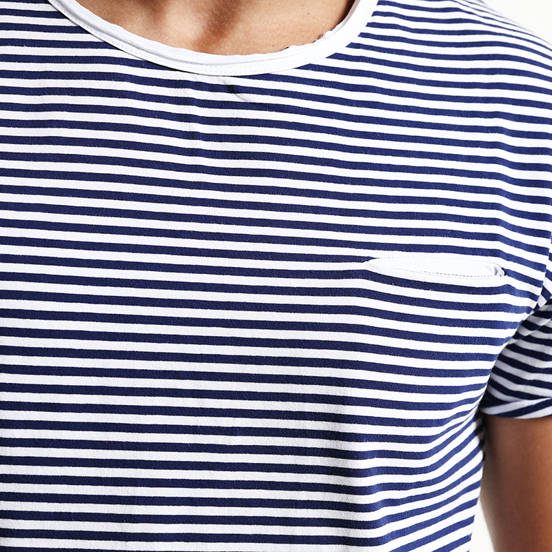 55373f6a3c1d7 SIMWOOD 2018 Spring Summer Short Sleeve T Shirts Men Striped Fashion Tees Slim  Fit Plus Size Breton Top TD1167-in T-Shirts from Men s Clothing on ...