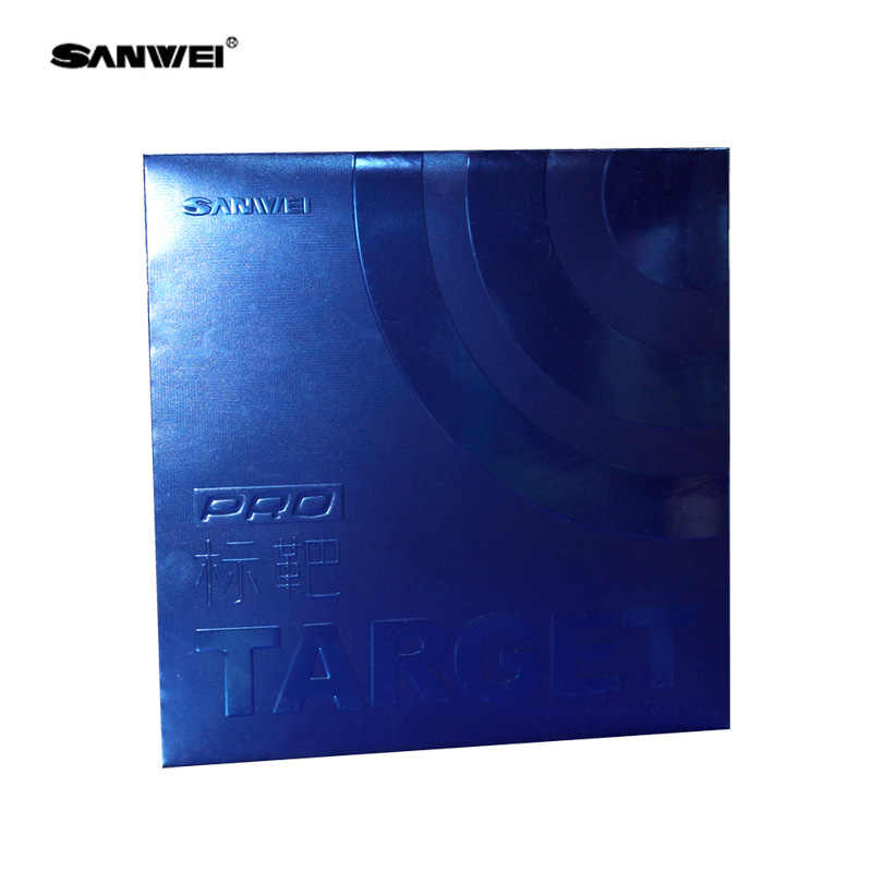 Sanwei (2019 latest) TARGET Provincial Blue Sponge (Target Pro Blue Version) Table Tennis Rubber with Ping Pong Sponge