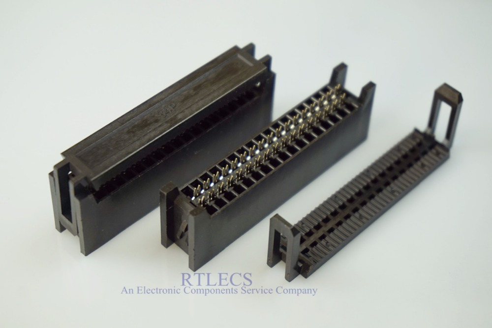 PC x 5 IDC 2,54 mm conectores PCB 34 pin del conector recto #A2640