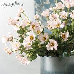 New artificial flower single branch daisy small chrysanthemum silk flower beauty chrysanthemum wedding home Christmas decor