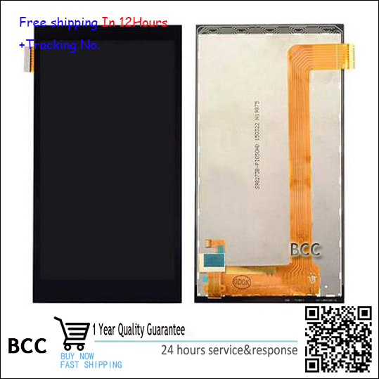 100% nuevo original para htc desire 620 620u 620 t 620g lcd display + touch screen panel digitalizador montaje de la pantalla táctil de prueba ok + pista