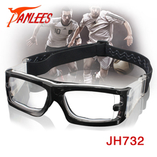 wholesale basketball goggles sport eyewear prescription soccer glasses with soft silicone pad adjustable strap free shipping