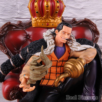 POP One Piece P.O.PXL Sir Crocodile GK Statue PVC Crocodile One Piece Action Figure Collectible Model Toy Gift