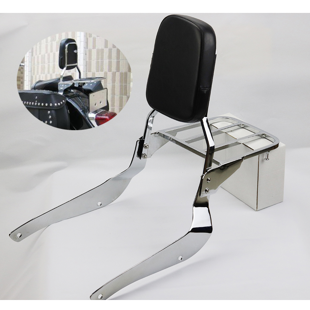 Sissy Bar Backrest Pad Suzuki Boulevard C50 Intruder Volusia VL800 2005-2009 M50