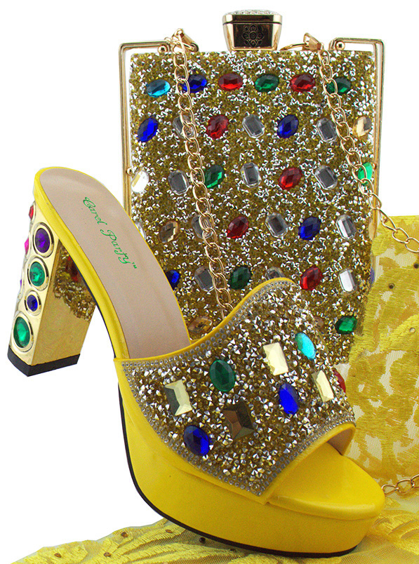 Smooth Material Shoes and Bag Set Italian Design Shoes With Matching Bag New Fashion African Shoes and Bags For Party MD002 italian shoes with matching bag new design african pumps shoe heels fashion shoes and bag set to matching for party gf25