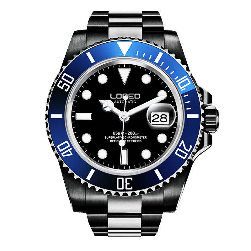 LOREO 9201 Germany 200M archetype of divers watch automatic self-wind luminous waterproof 200M diver watch sapphire diamondLOREO 9201 Germany 200M archetype of divers watch automatic self-wind luminous waterproof 200M diver watch sapphire diamond
