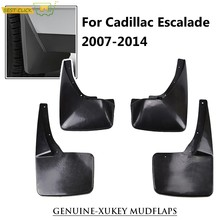 Oe Styled Set Gegoten Spatlappen Voor Cadillac Escalade 2007 - 2014 GMT900 Splash Guards Spatborden 2008 2009 2010 2011 2012 2013