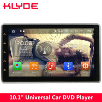 KLYDE 10.1 IPS 4G Octa Core Android 8.0 4GB+32GB 2DIN Universal Car DVD Player For Nissan Tiida 350Z X trail Sunny Navara NV200