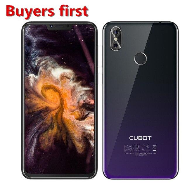 D'origine Cubot P20 Smartphone 19:9 6.18 FHD 4 gb RAM 64 gb ROM cellphon Android 8 MT6750T Octa- core 20MP 4000 mah 4g Mobile téléphone