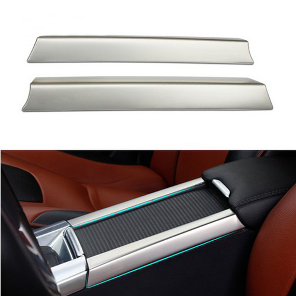 High Quality 2pcs Stainless Steel For Volvo S60 S60l V60: Top Quality! 2pcs/set Stainless Steel Cup Holder Armrest