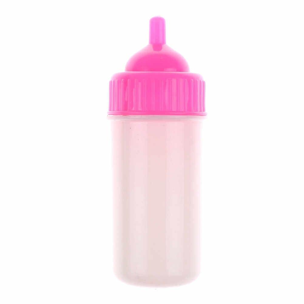 นมขวด Magic สีชมพูและสีขาวตุ๊กตาอุปกรณ์เสริมของเล่นขวด Upside Down และ Become Less ของเล่น