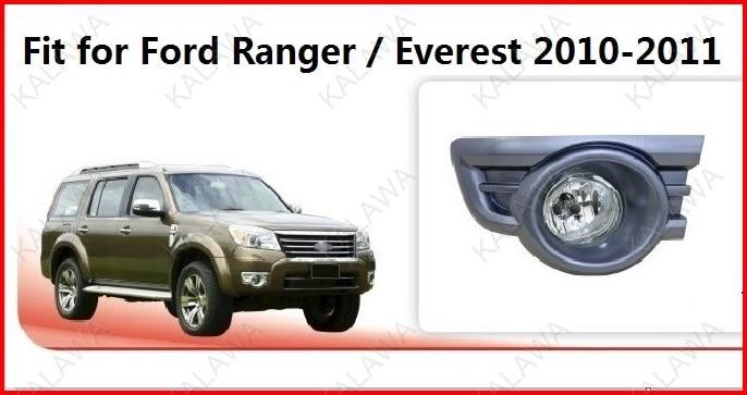 5 Pairs, Посвященный 55 Вт СВЕТОДИОДНЫЕ противотуманные фары привело чип противотуманная фара, чехол для Ford Ranger/Everest 2010-2011 с проводом FD390B Freeshipping …