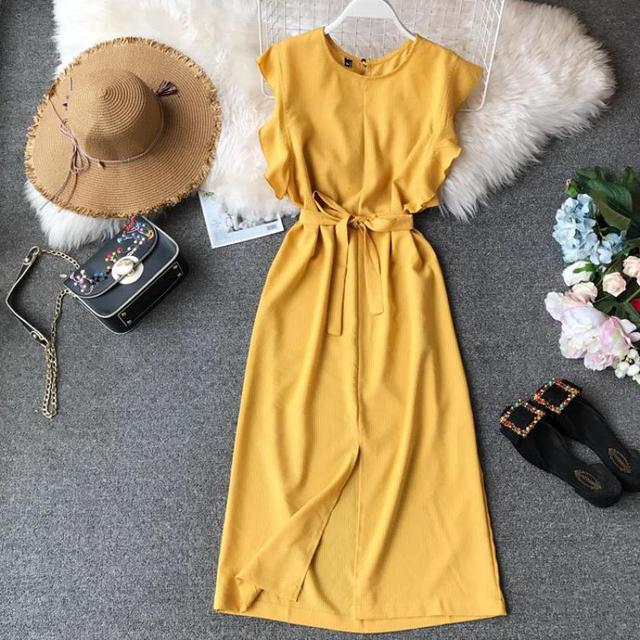 Summer Stripe Dresses 2019 New Women Slim Sleeveless O-neck Casual Wear Long Robe Ladies Beach Irregularity Bodydcon Dress