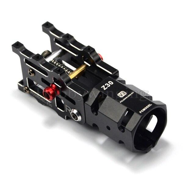 Cnc aluminium z v mm tube arm folding connector for