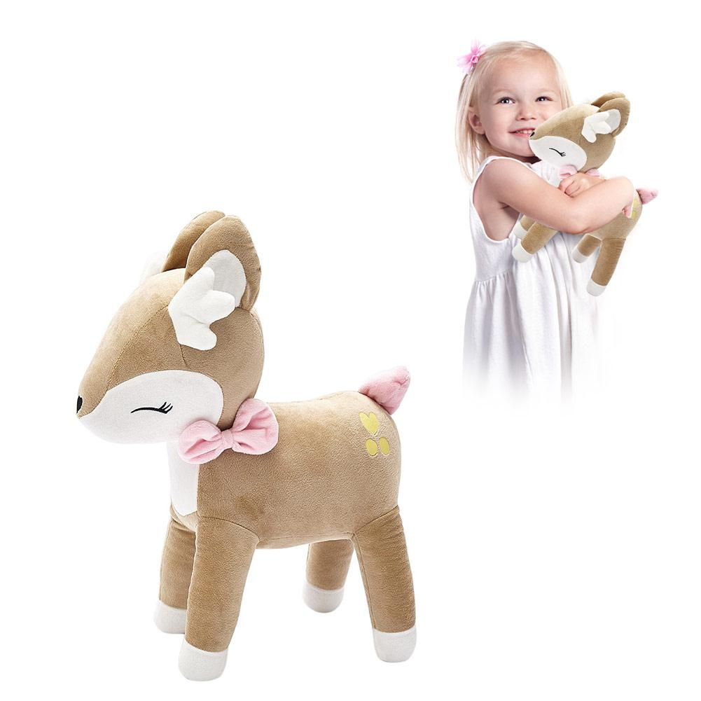 Plush Deer Toy PP Cotton Soft Baby Soothing Doll