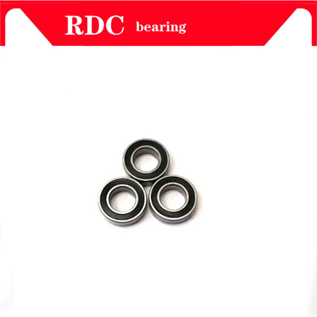 12x24x6mm Si3N4 Ceramic Ball Bearing 6901RS For Mountain Bike Bicycle Cycling