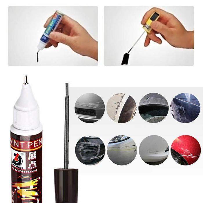 Для автомобильной краски, ручка, покрытие, защита от царапин, ремонт, аппликатор, нетоксичный, Прочный инструмент NJ88