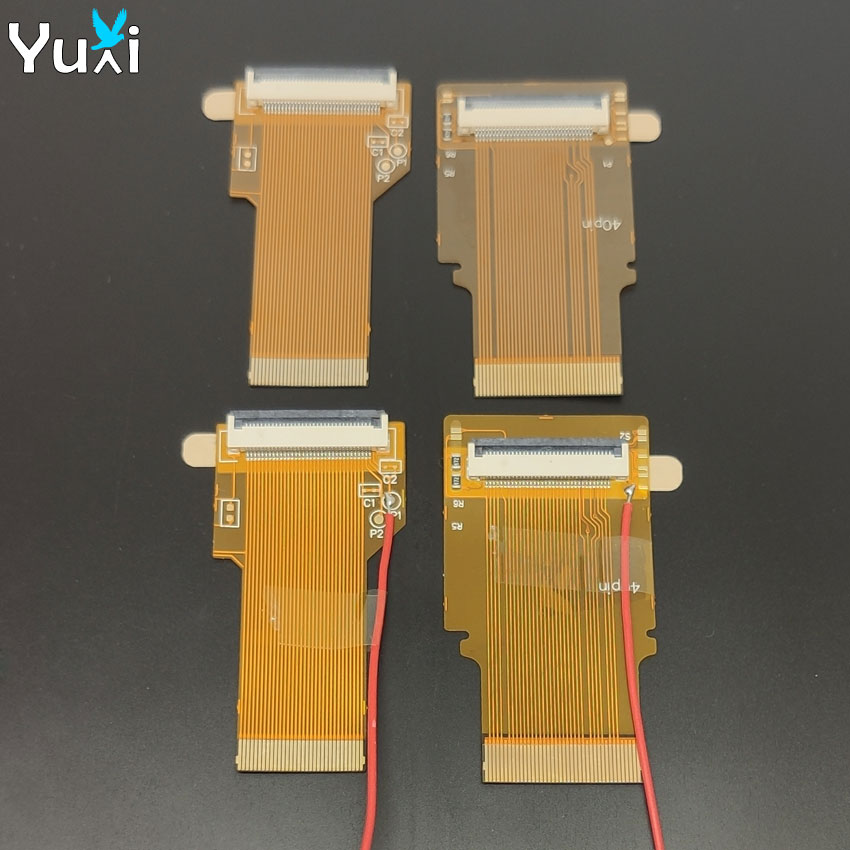 YuXi For <font><b>Gameboy</b></font> <font><b>advance</b></font> SP Ribbon Flex cable <font><b>AGS</b></font> <font><b>101</b></font> backlit adapter 32 40 pin with/without cable For GBA SP image