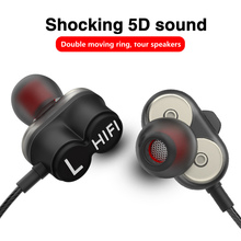 лучшая цена In-Ear Earphone For Phone Bass Earphones With Microphone Mp3 Headset Wired Earphones With Microphone  For Mobile Phone