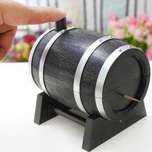 Автоматическая бочка для вина, держатель для зубочисток, Ручной пресс, контейнер для зубочисток, коробка, Диспенсер, держатель, бытовой Органайзер, настольные декорации