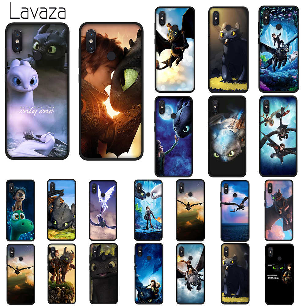 Lavaza toothless How To Train Your Dragon Soft Silicone Case TPU Cover for Huawei Mate 10 20 P9 P10 P20 Lite Pro P Smart 2019
