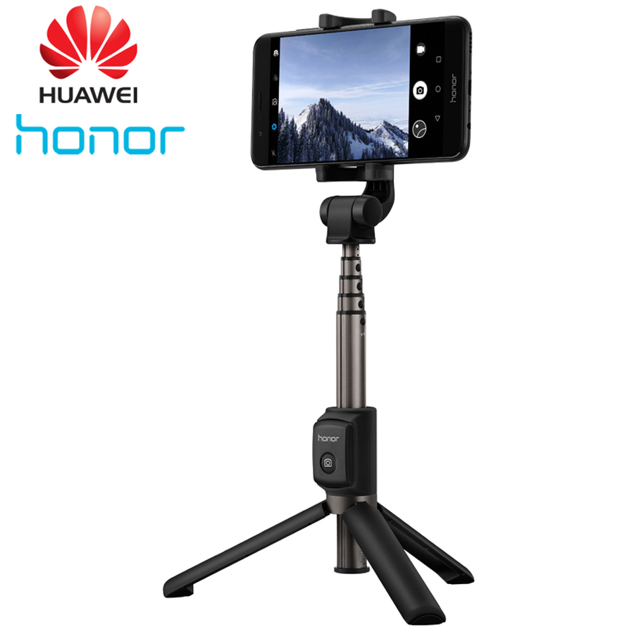 100% Original Huawei Honor AF15 Selfie Stick Tripod Portable Bluetooth 3.0 Monopod For iOS/Android/Huawei Smart Phone original huawei honor am07 smart bluetooth headset