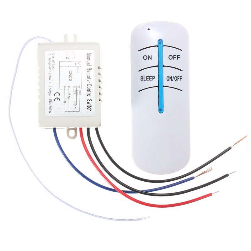 1 Way Digital RF Wireless Remote Control Switch ON/OFF