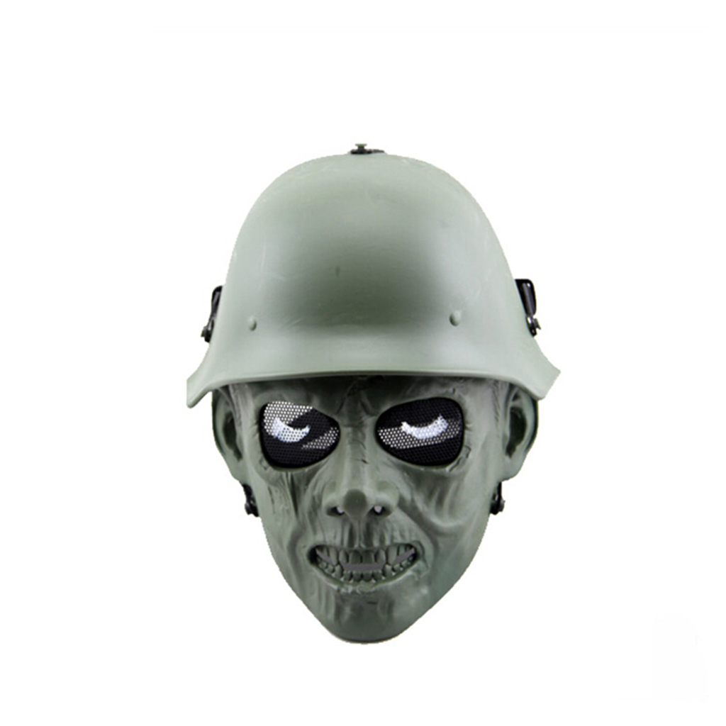 Image 5 - Outdoor Hunting Cs Wargame Mask Halloween mask Ghost Full Face Skull Bone Airsoft Paintball Mask-in Paintball Accessories from Sports & Entertainment