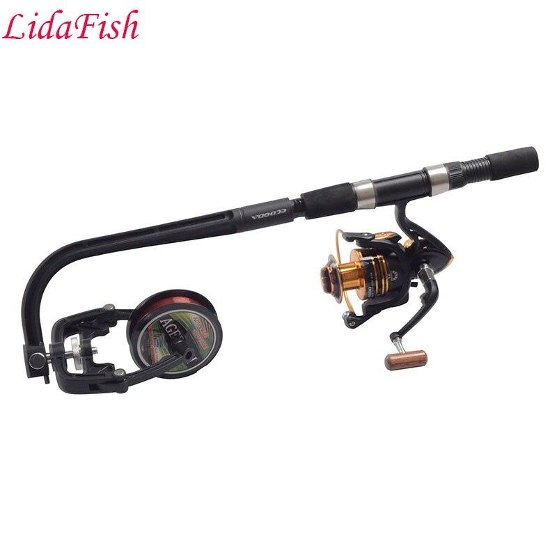 Gratis frakt lett å bære fiske linje pakket / winder / fiske linje - Fiske