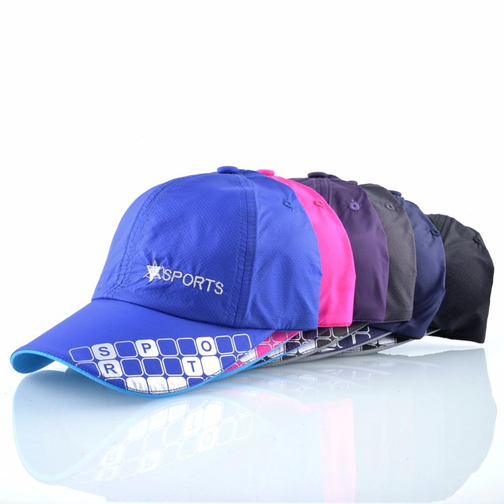 Drying Folding Baseball Cap Men Women Summer Hat Travel Sun Shade Hats