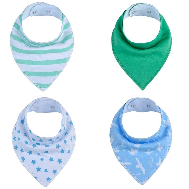 1pcs solid color baby bibs boys accessories newborn girls bu