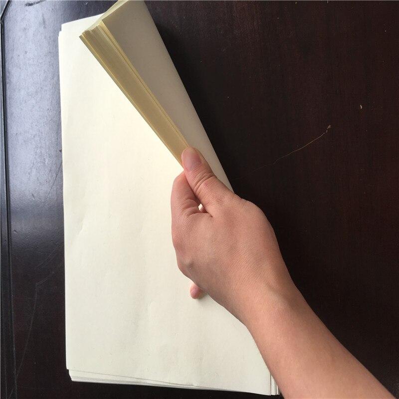 Купить с кэшбэком 85 gsm A4, 75 cotton 25 linen paper, ivory color, with red/blue fiber