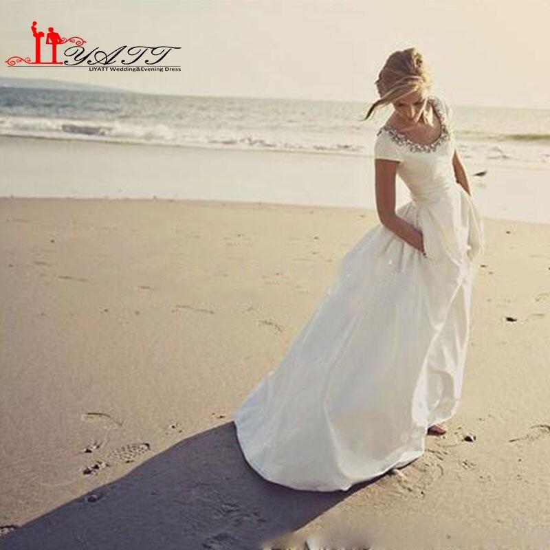 Jetliner ship wedding dress