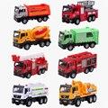 9 Estilo de Alta Calidad de Aleación de Vehículos de Juguete Modelo de Mini Tractor China juguete Del Coche de Bomberos de la Grúa Modelo de Mala Muerte Barato Juguetes Para Niños Boy regalo