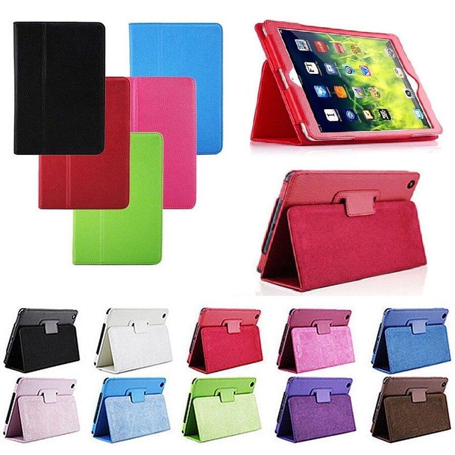 Nouveau Ultra Mince Solide PU Cas Pour iPad 2/3/4 Cas Smart support Stand Tablet Cover Pour iPad 2 iPad 3 iPad 4 Cas Réveil béquille