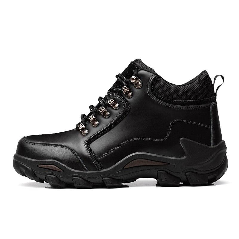 Confortable En Casual Luxe Durable Sdb6 Loisirs Cuir Des brown Chaussures Misalwa Black Sdb6 Top L'extérieur Hommes Qualité De À Père Véritable SpGqMUzLV