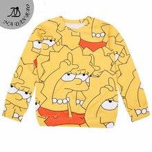 European Popular moleton NEW Women Sweatshirt 3d Print Digital hoodies Sampson Tops Plus Size moleton
