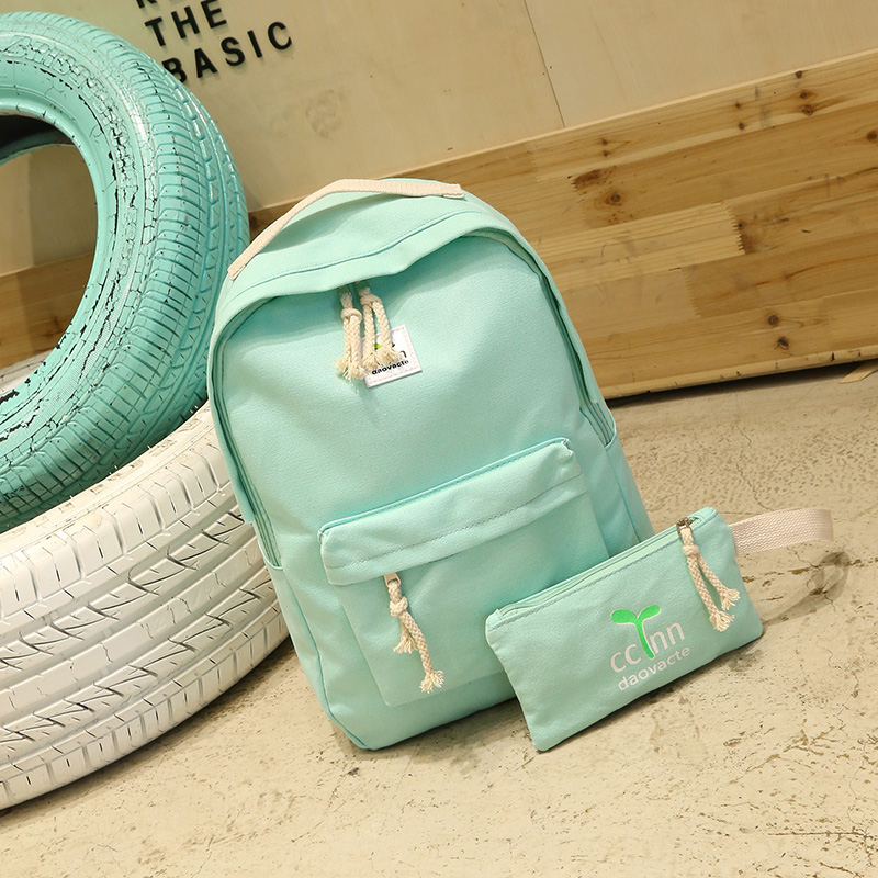 Teenage Backpacks Girls Canvas Backpack Leisure Student Feminine Backpack Female School Bagpack Girl Mochila Femininal Nbxq05 #2