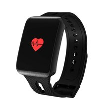 TF1 Bluetooth 4.0 Smart Watch for IOS for Android Chip IP68 Waterproof Heart Rate Color Screen Tracker Smart Bracelet
