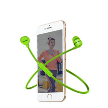 SOWAK H3 Sports Bluetooth Earphone Wireless Bluetooth 4.1 Headset Bass Stereo Earbuds Earphones with Microphone for smart phone
