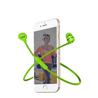Fashion Sports Smart Bluetooth Earphones Wireless Bluetooth 4 1 Bass Stereo Earbuds Headphones With Microphone For