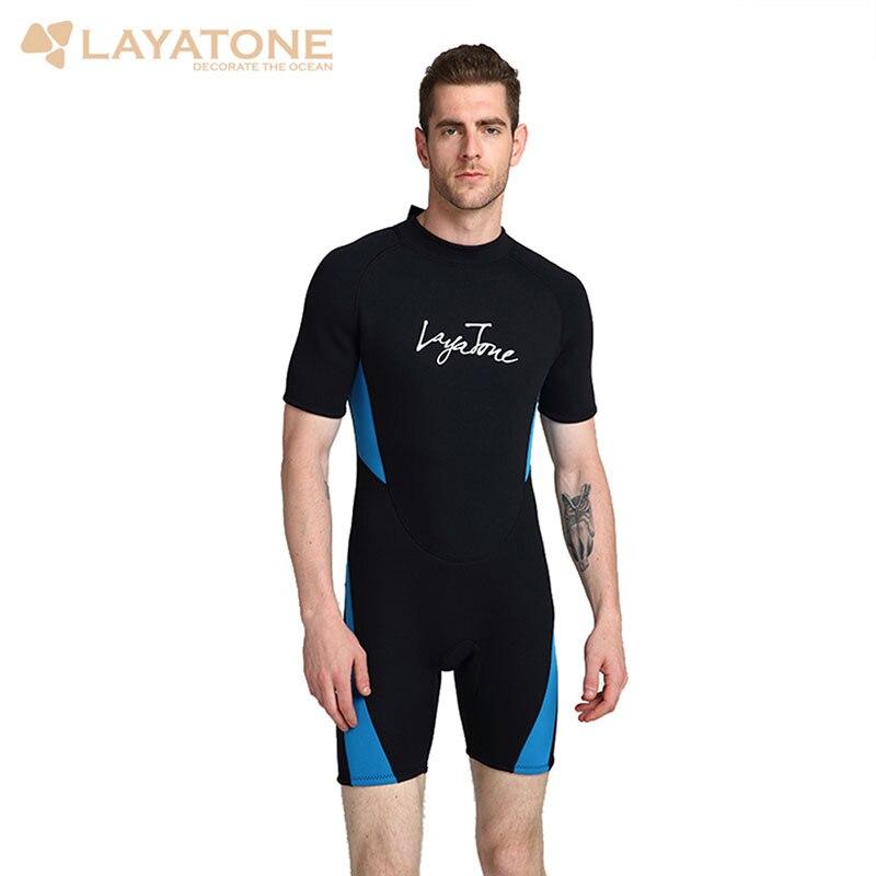 3MM neoprenu Wetsuit mężczyźni nurkowanie z rurką łowiectwa podwodnego kombinezon do nurkowania kawałek i blisko ciała nurkowanie z akwalungiem strój kąpielowy kombinezon w Pianka do nurk. od Sport i rozrywka na AliExpress - 11.11_Double 11Singles' Day 1