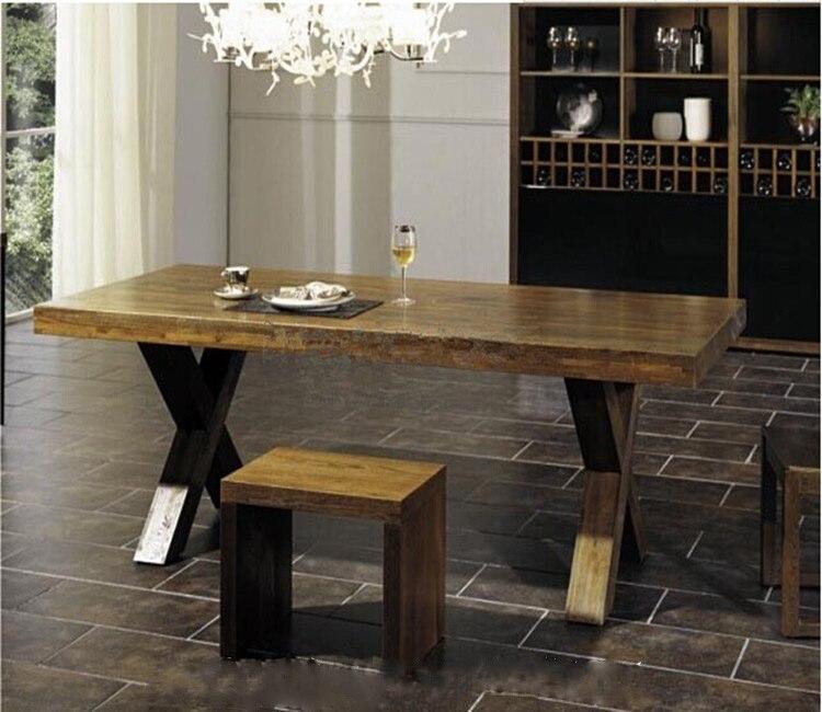 tienda online americana de hierro de poca escritorio de la tabla mesas de madera y sillas mesas de bar comedor del hotel mesa de comedor combinacin