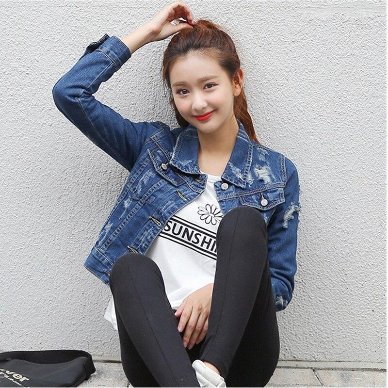 Popular Denim Jackets for Women Xl-Buy Cheap Denim Jackets for ...