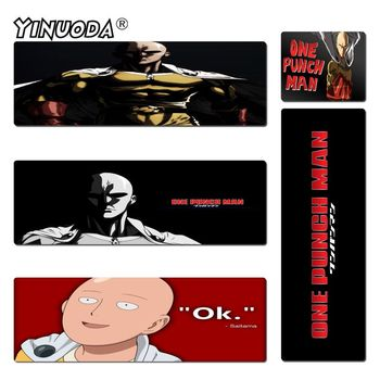 Yinuoda High Quality One punch man Unique Desktop Pad Game Mousepad Size 180*220 200*250 250*290 300*600 and 400*900*2mm