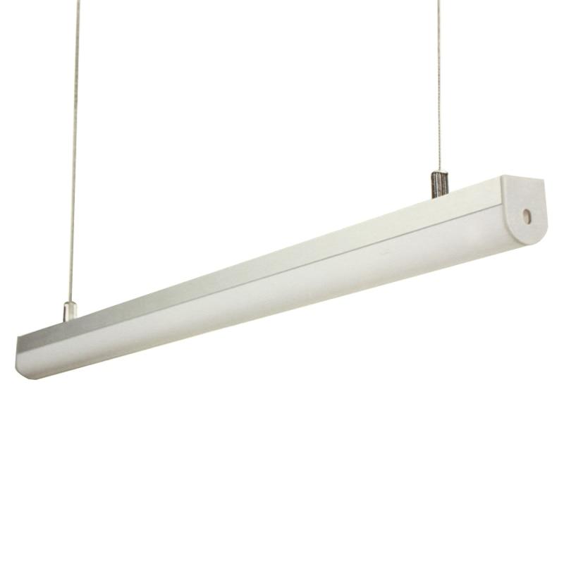 6 sztuk / paczka profil aluminiowy LED Bar Światła lampa wisząca 1 - Oświetlenie LED - Zdjęcie 1