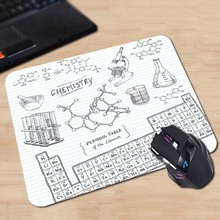 SMU Chemistry Undergraduate Game Durable Mouse Pad Soft Rubber Mat 180x220x2mm 250x290x2mm