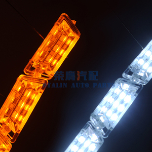 Image 4 - ROYALIN Car Headlights LED Strips DRL Motorcycle Flexible Switchback Tape Knight Rider Sequential Turn Signal Lights Soft Tube
