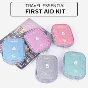 Image 1 - Mini ilk yardım çantası taşınabilir kamp açık tıbbi çanta taktik askeri ilk yardım çantası aile yürüyüş araba acil Survival çanta